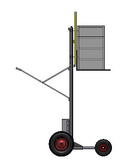 hand truck for beekeepers
